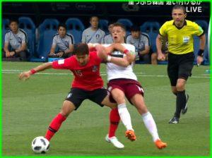 韓国 サッカー 反応